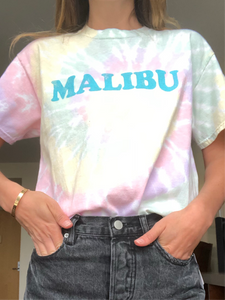 Tie Dye Malibu T-Shirt - Down 2 Earth