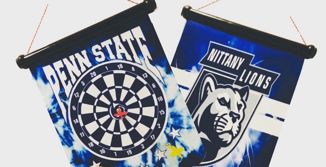 Double Sided Penn State Magnetic Dartboard