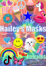 Load image into Gallery viewer, Tie Dye Fun Mask Book