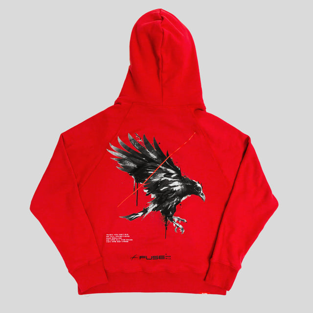 Set Yourself Free Hoodie - Red