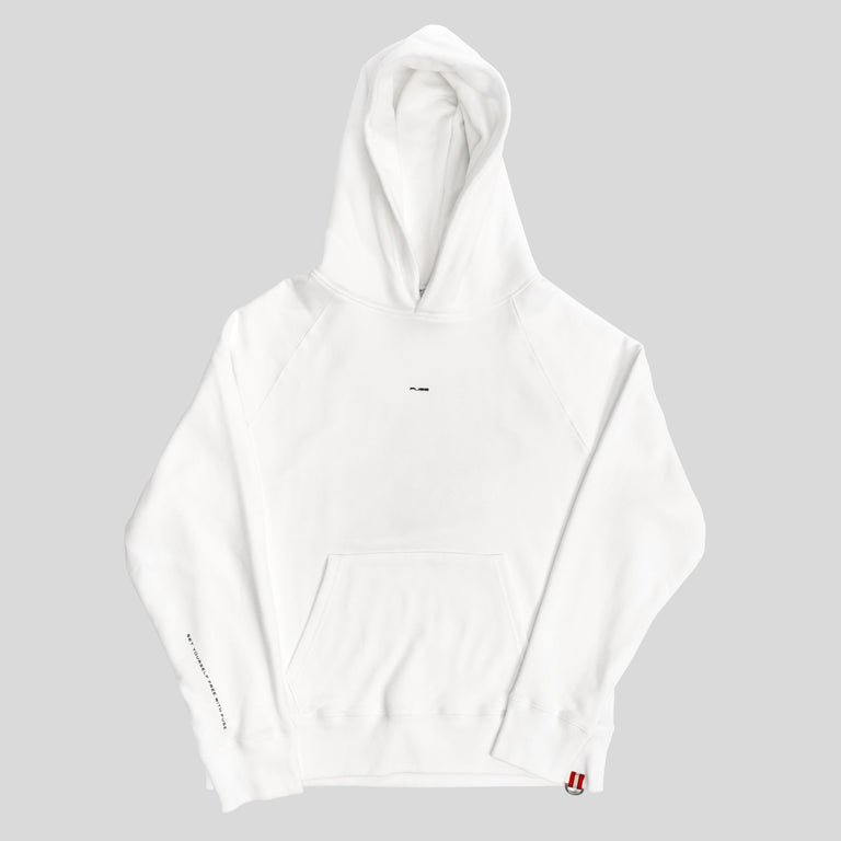 """Set Yourself Free"" Hoodie - White"