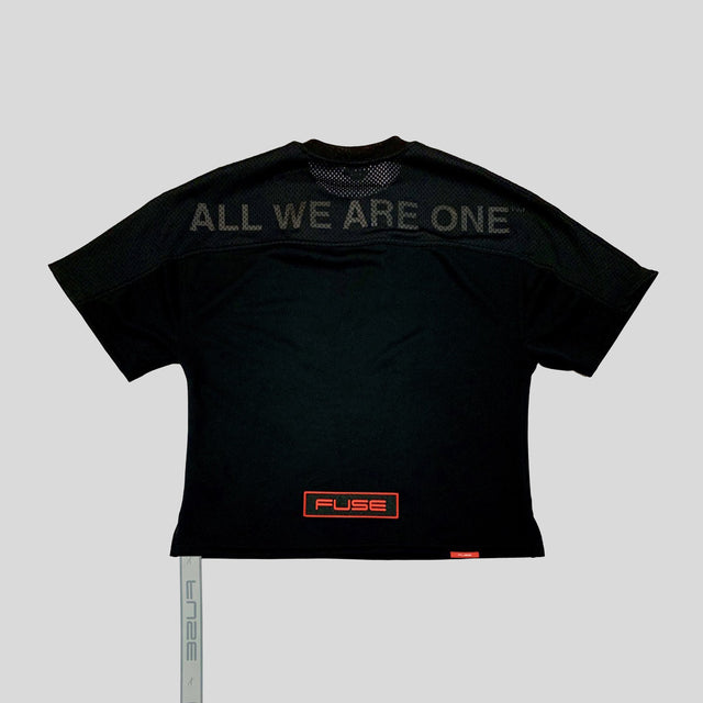 All We Are One™️ Oversized Jersey - Black