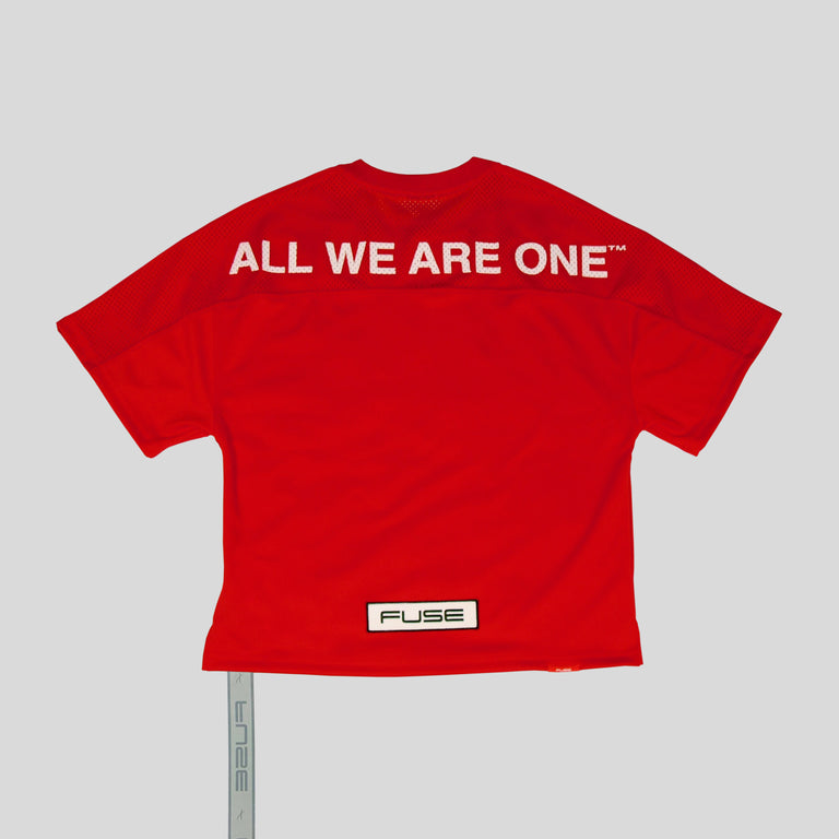 """All We Are One"" Oversized Jersey - Red"