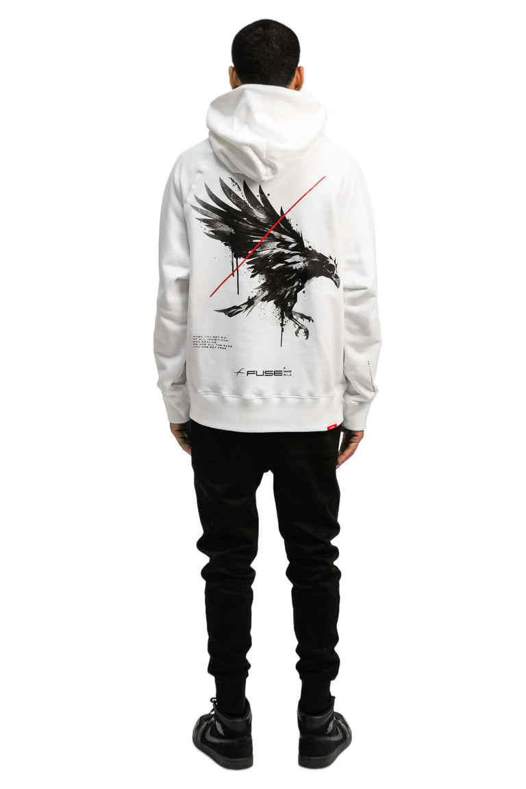 Set Yourself Free Hoodie - White