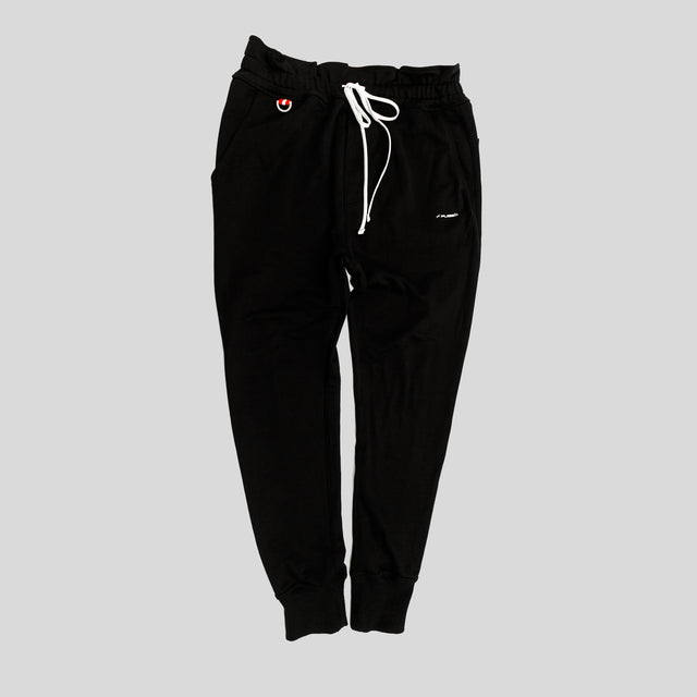 Signature Logo Jogger - Black