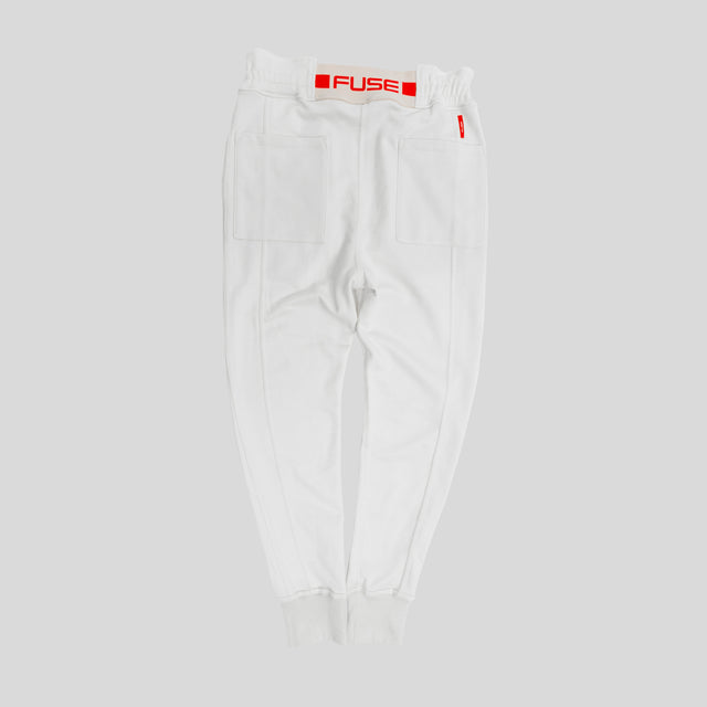 Signature Logo Jogger - Off White