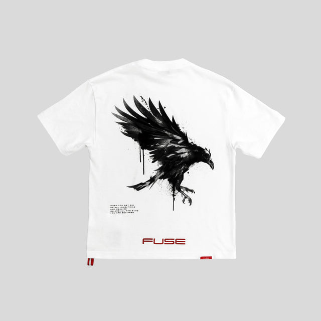 """Set Yourself Free"" Tee - White"