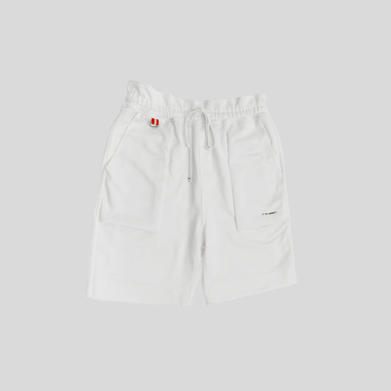 Signature Logo Shorts - White