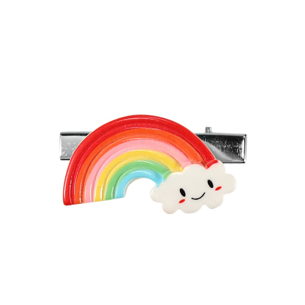 BrittsClips, Light up, Blinking LED Lights, Rainbow Hair clip