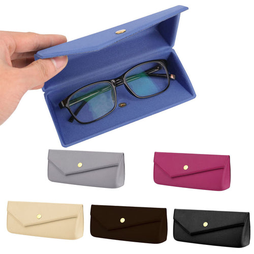 1PC Envelope EVA Eye Glasses Sunglasse Handmade Case Felt Lined Cover Punch