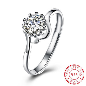925 Sterling Silver Ring Fashion fashion ring fashion flat ring