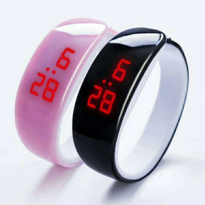 Battery Sporting Fashion Wrist Included LED Digital Bracelet Wristband 3cm Button Open Max Women 5cm 1 4 Watch 69inch