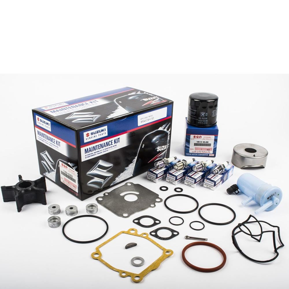 Suzuki Complete Service Kit for DF140 YR 2010, 2011, 2012 Part No 17400-92850-000