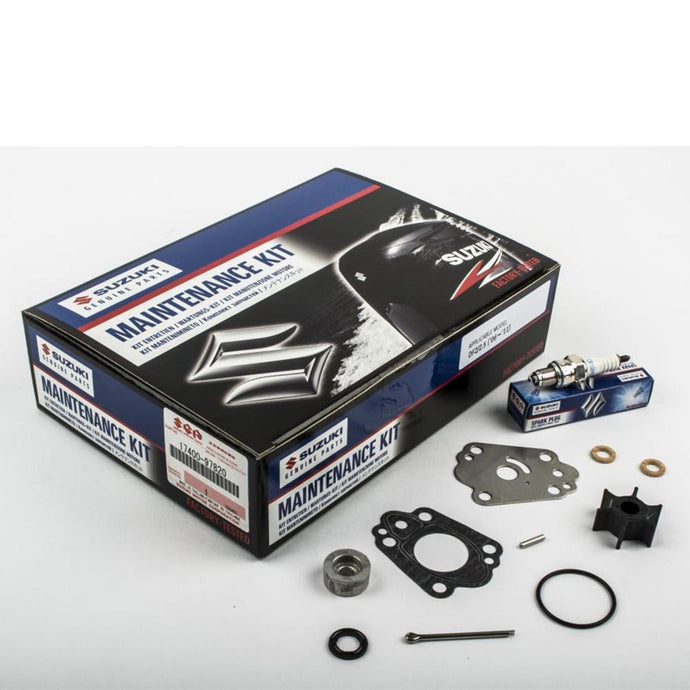 Suzuki Complete Service Kit for DF2 & 2.5 YR 2006, 2007, 2008, 2009, 2010, 2011 Part No. 17400-97820-000