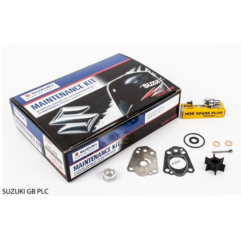 Suzuki Complete Service Kit for DF2 & 2.5 YR 2012 Part No 17400-97810-000