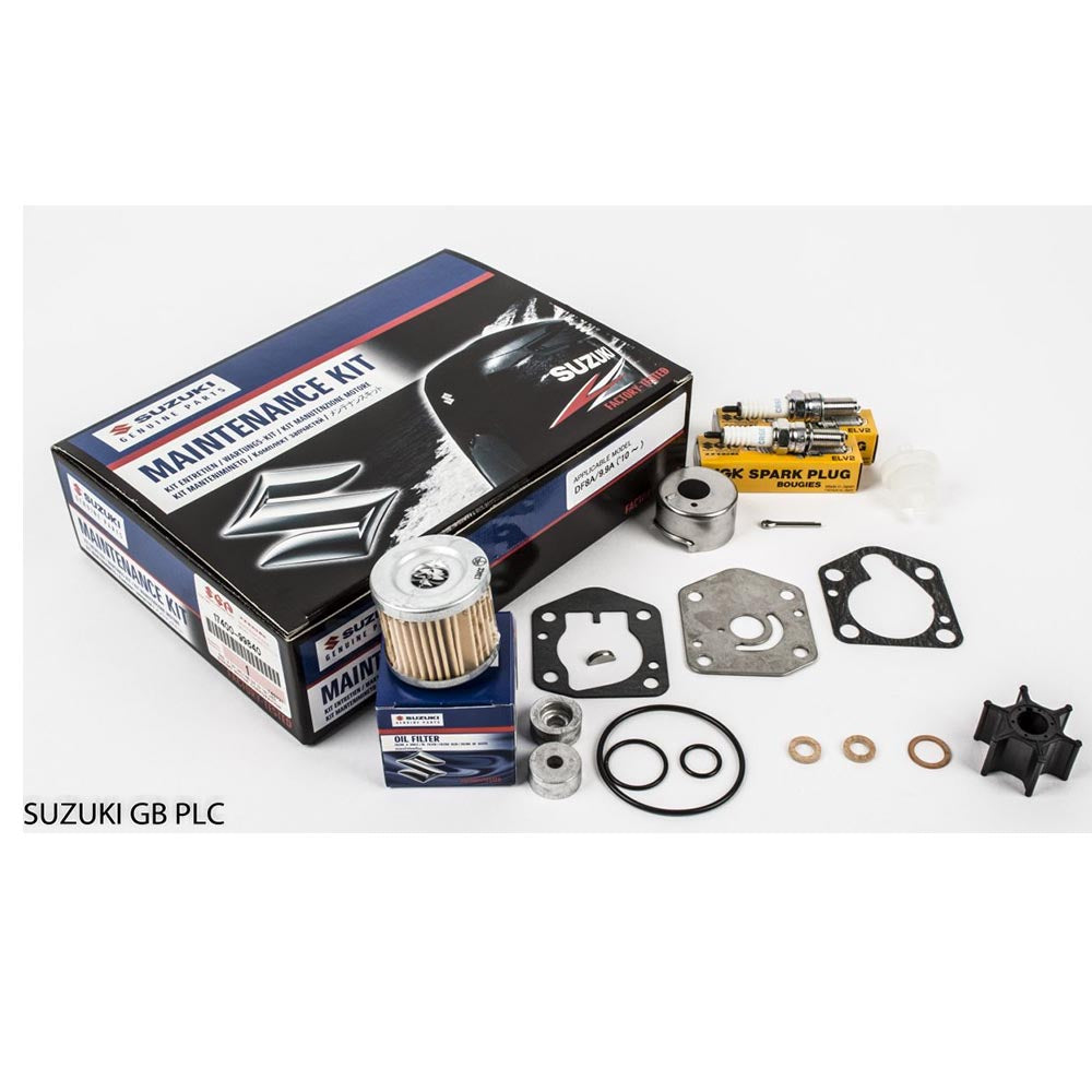 Suzuki Complete Service Kit for DF8A & 9.9A YR 2010 Part No 17400-99840-000