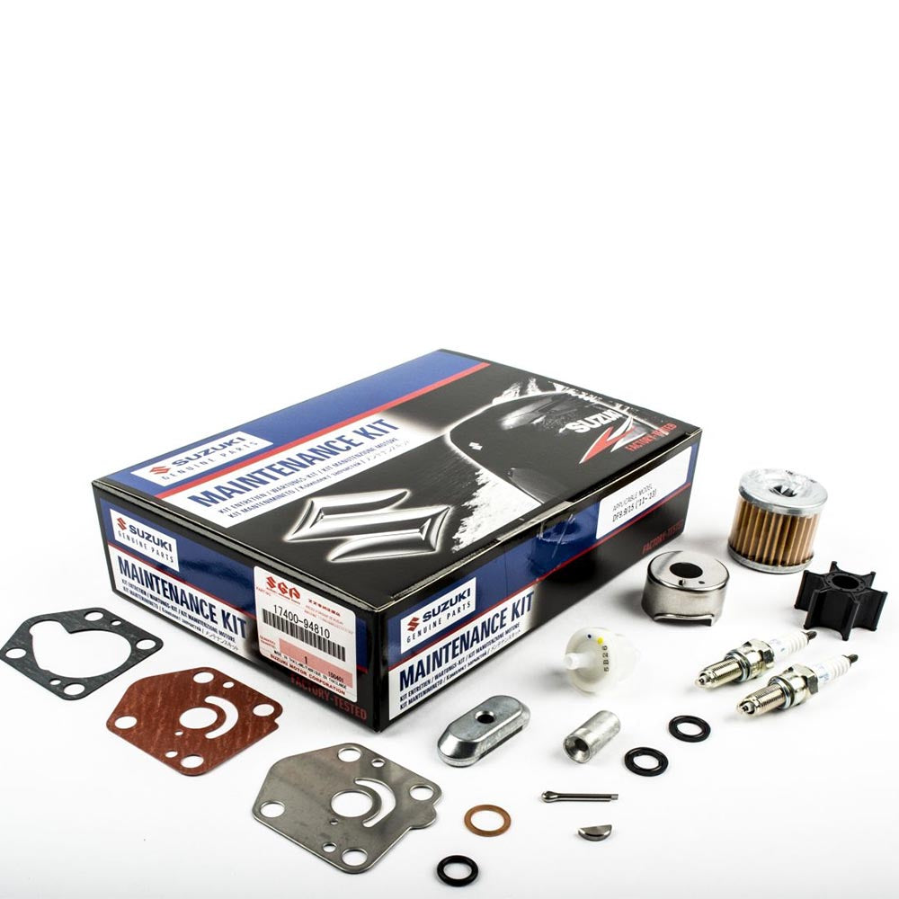 Suzuki Complete Service Kit for DF9.9 & 15 YR 2011, 2012, 2013 Part No 17400-94810-000