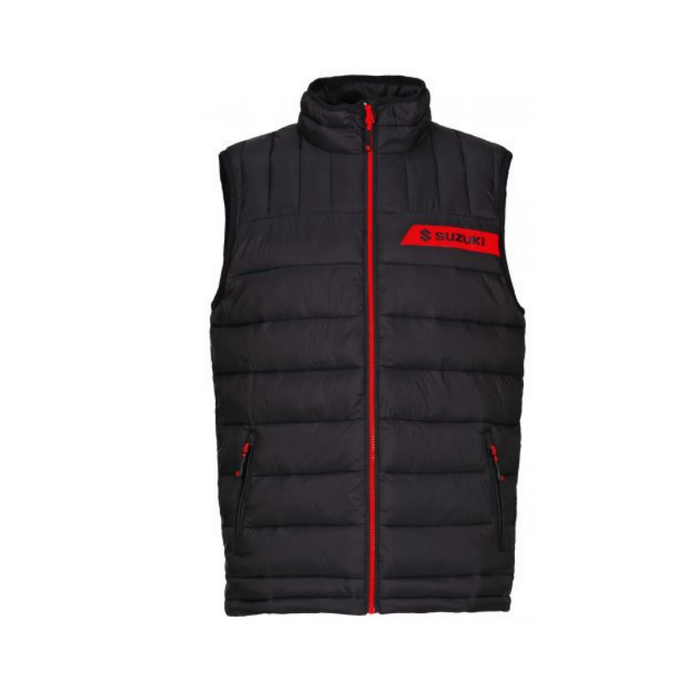 Suzuki Team Black Quilted Bodywarmer