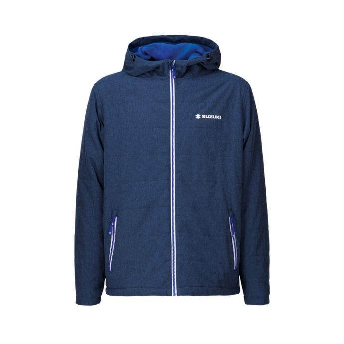 Suzuki Team Blue Quilted Jacket