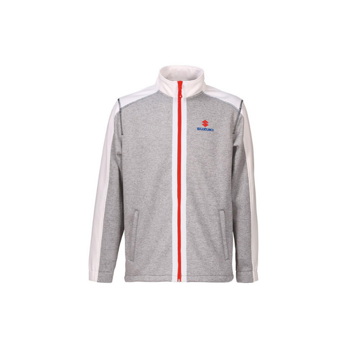 Suzuki Team White Fleece Jacket
