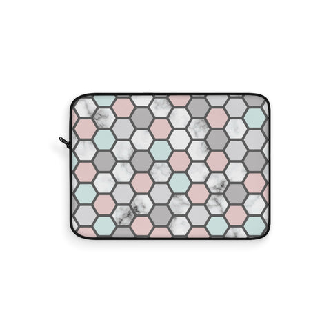 Geometric Polka Dot Laptop Sleeve