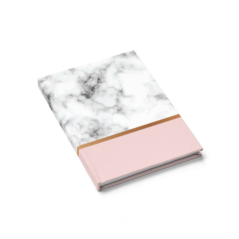 Pink & White Marble Journal