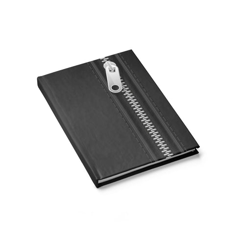 Black Zipper Journal