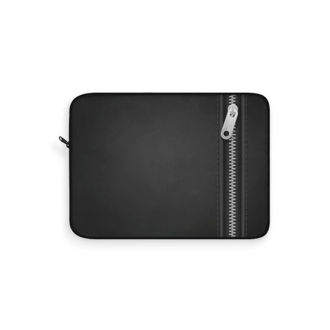 Black Zipper Laptop Sleeve