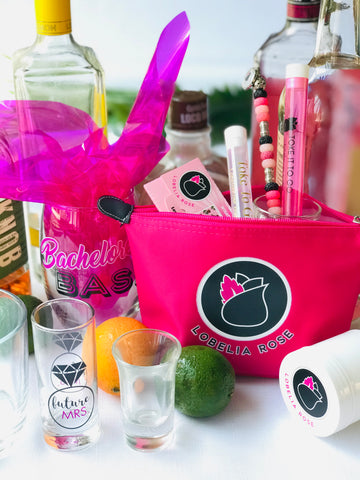 lobelia rose toke it to go essentials bag for bridesmaids gifts and bachelorette party
