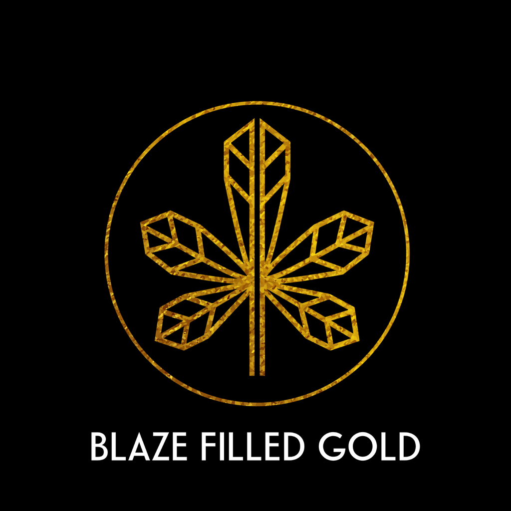 BLAZE FILLED GOLD
