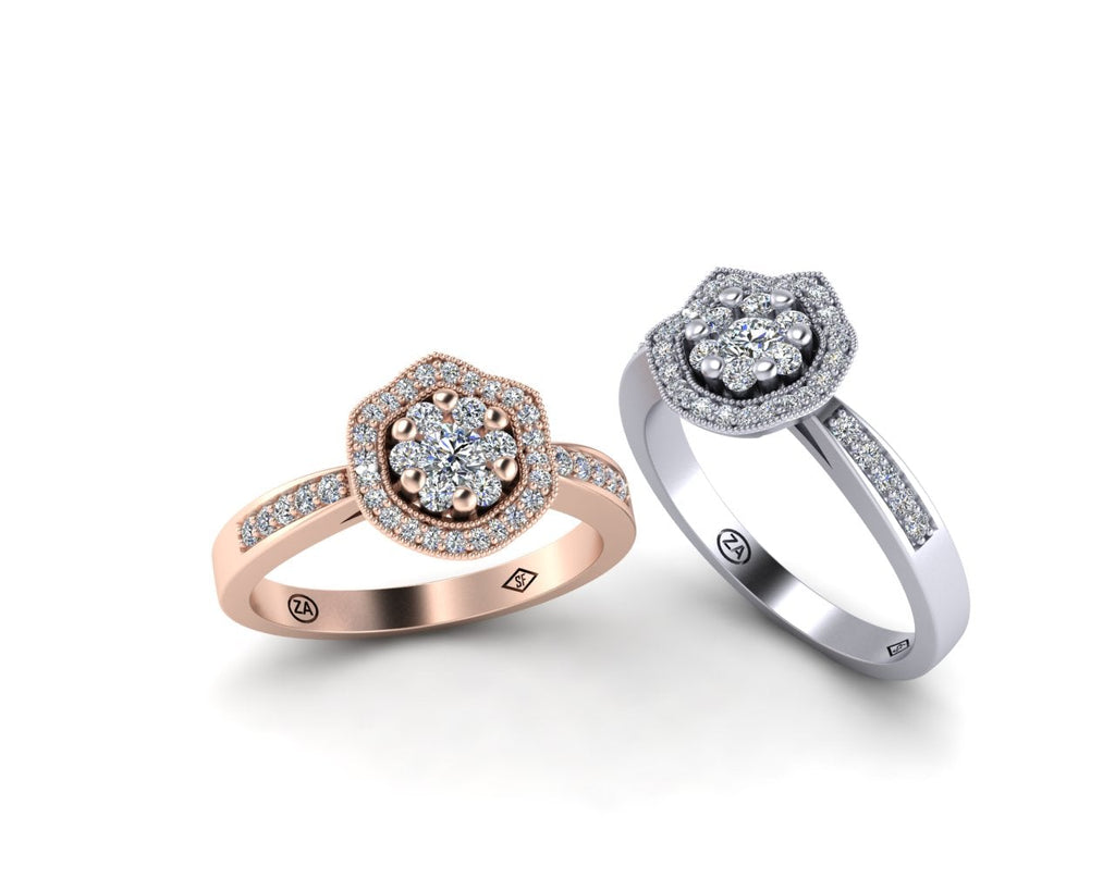 FANTASY ENGAGEMENT RINGS