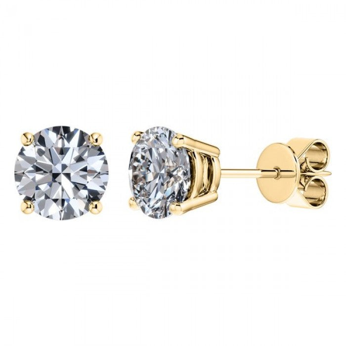 Four Claw Diamond Studs 0.80ct