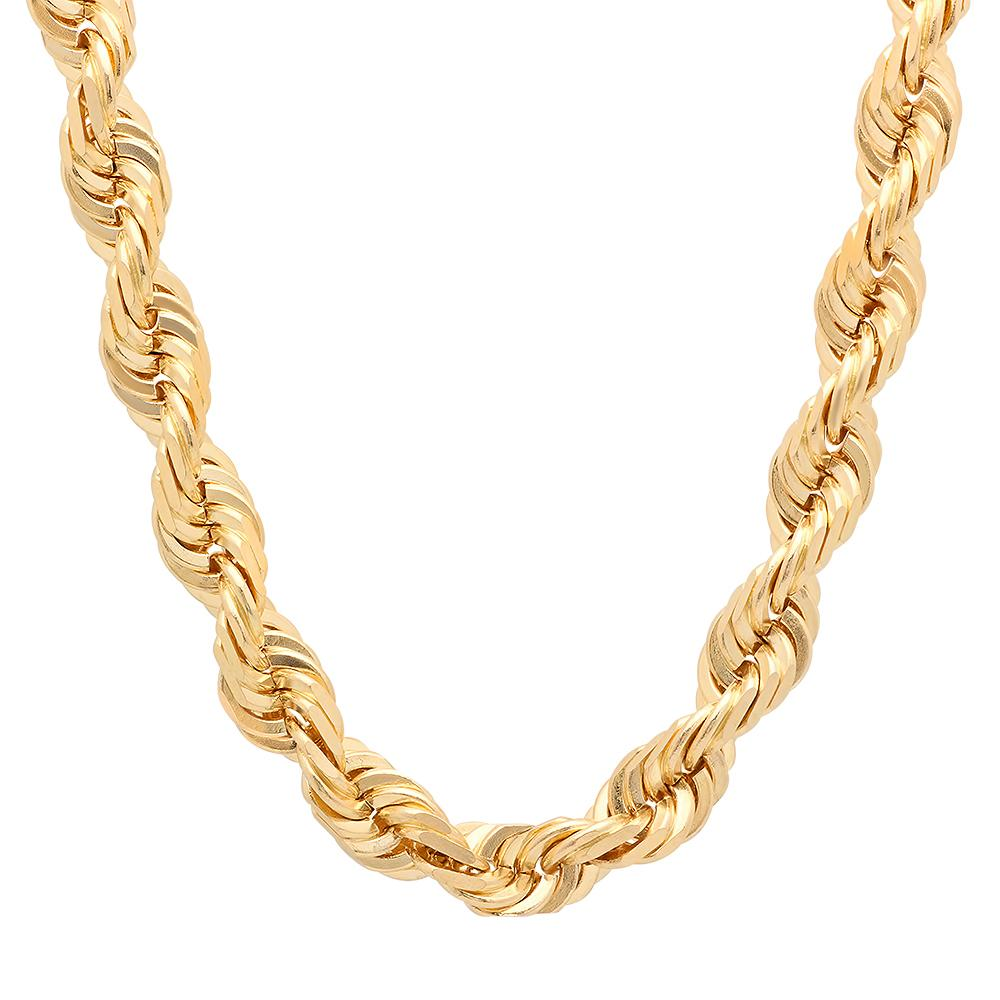 Gold Filled 10mm Rope Necklace