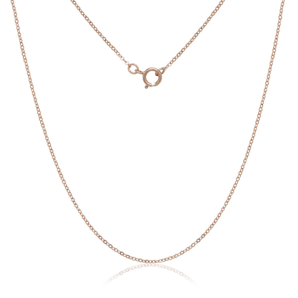 Rose Gold Anchor Chain (42cm)