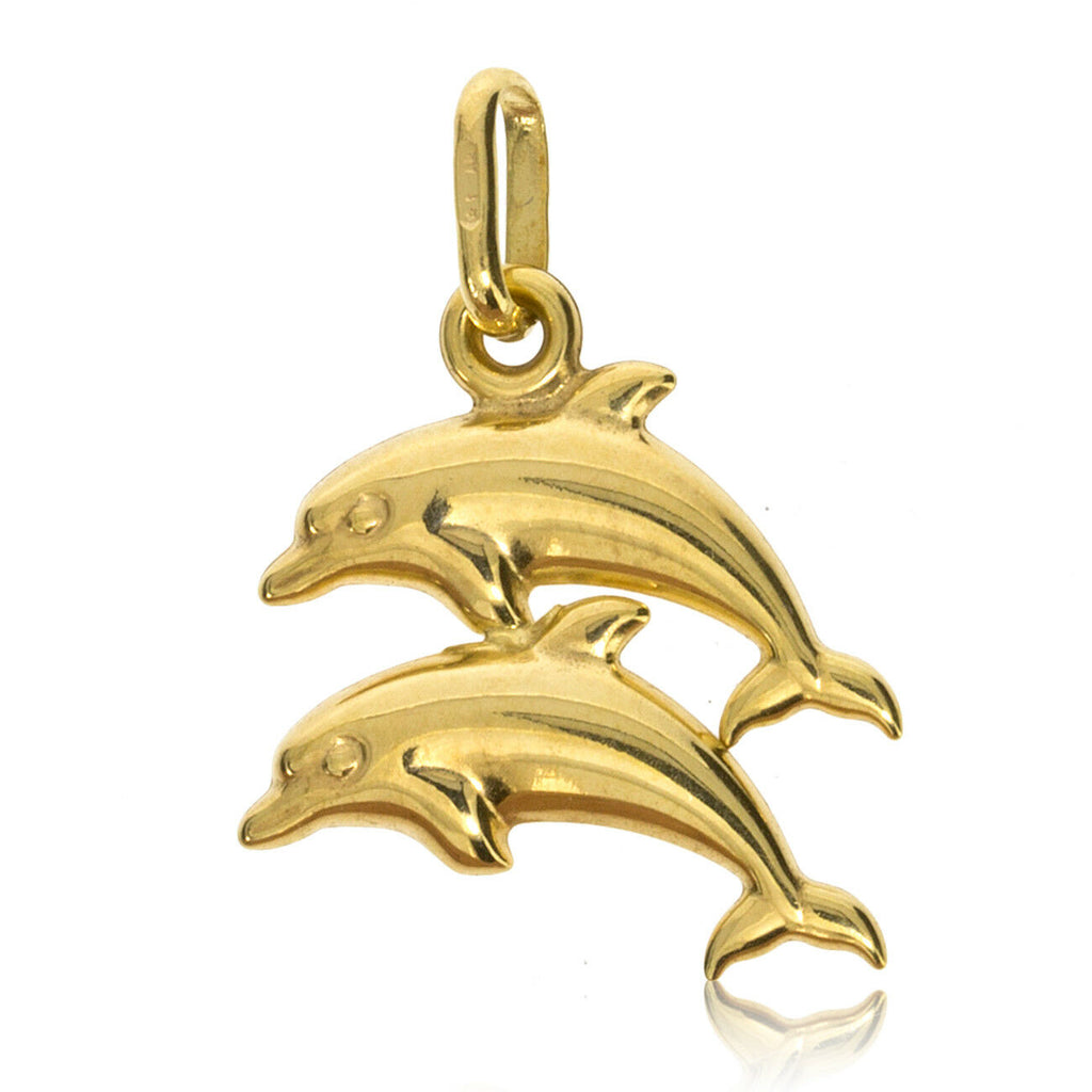 Yellow Gold Double Dolphin