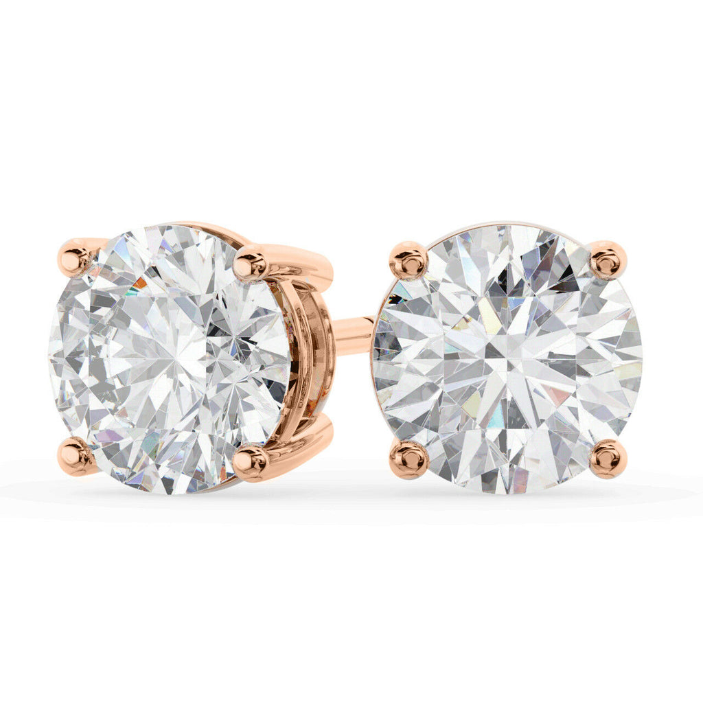 Four Claw Diamond Studs 1.40ct