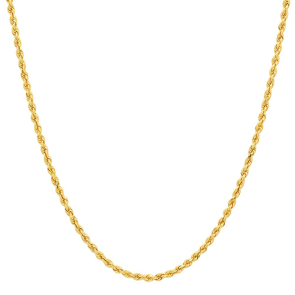 Gold Filled 4mm Rope Necklace