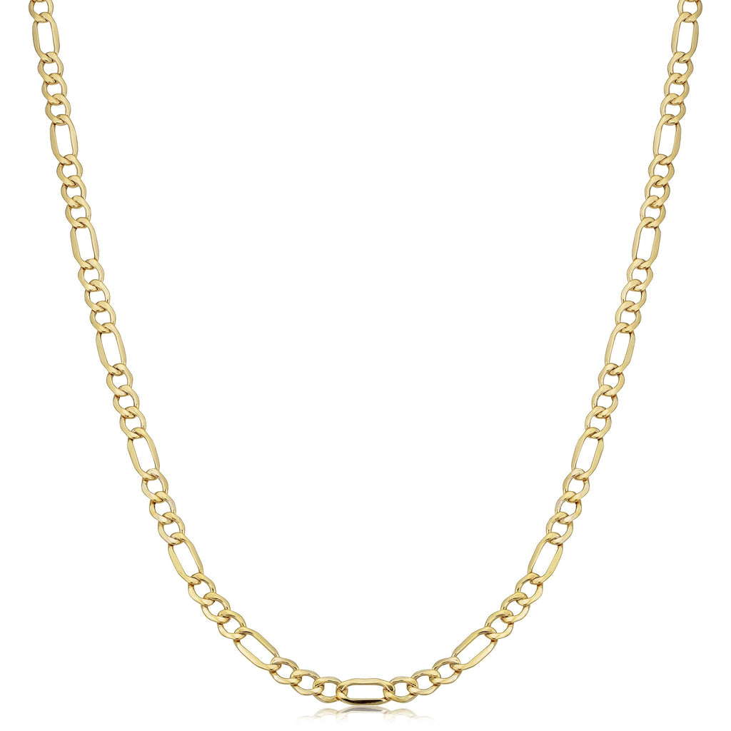 Gold Filled Classic Style Figaro Chain