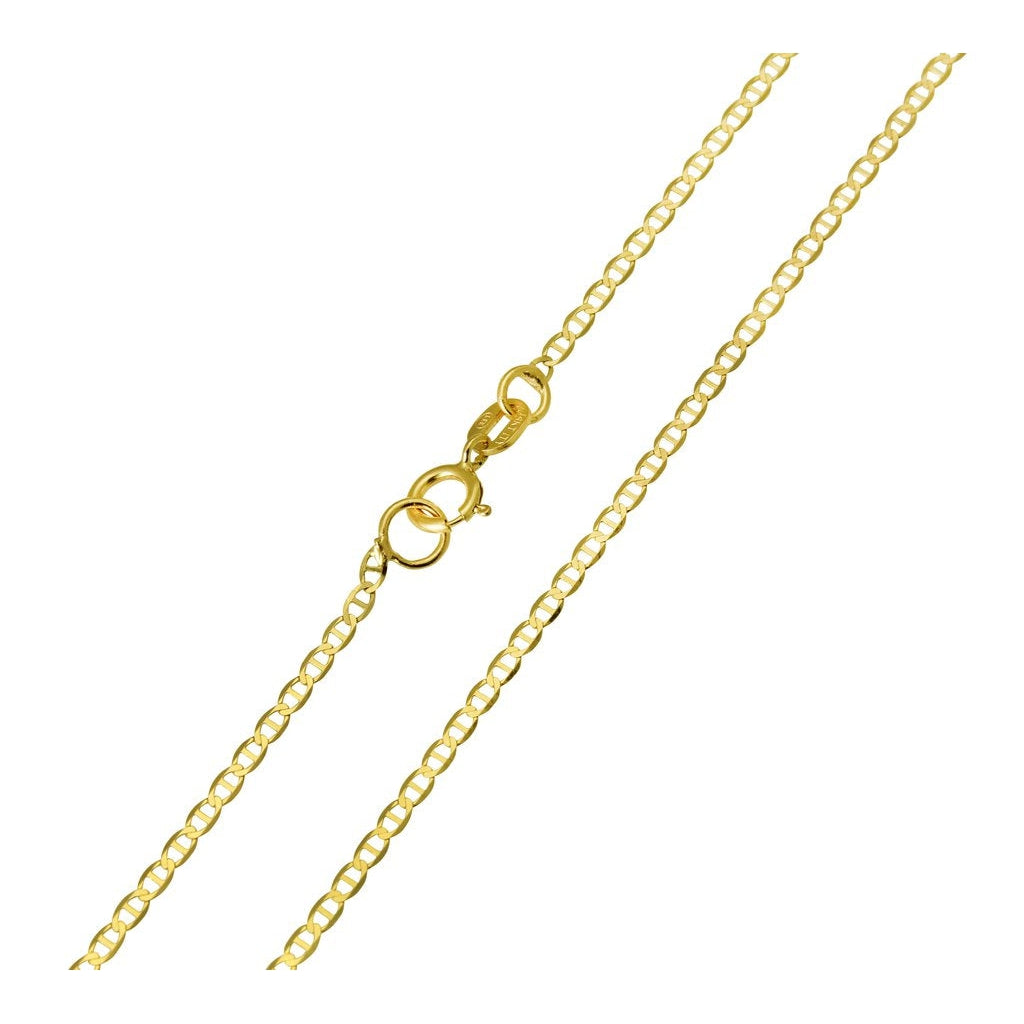 Gold Filled Mariner Link Necklace