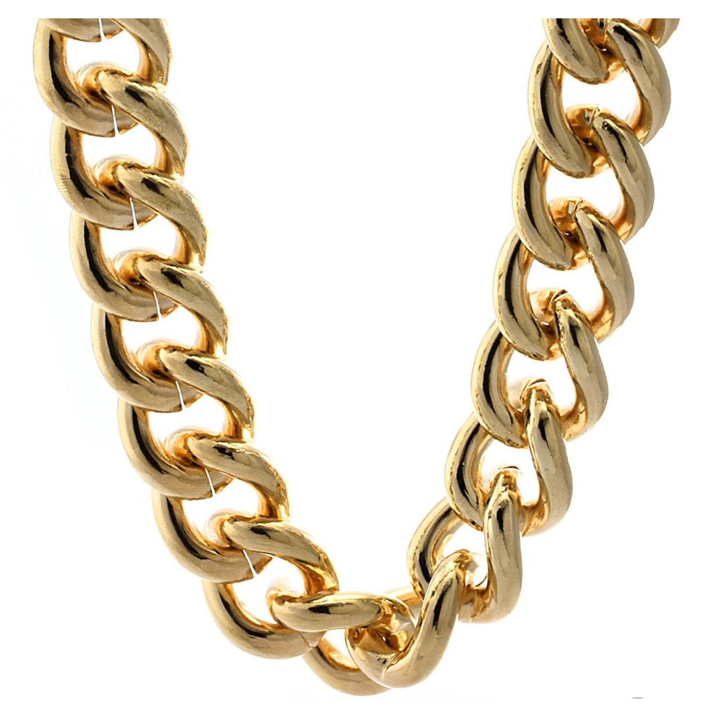 Gold Filled Chunky Miami Cuban Chain