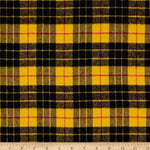 Tartan Gold Highlander Flannel Pre-Cut