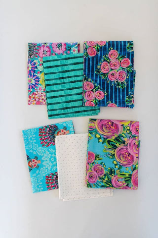St. Lucia Floral Fat Quarter bundle