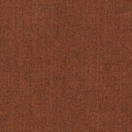 Russet Mammoth Flannel 1/2 yard Pre-Cut