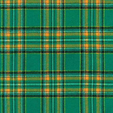 Green Highlander Flannel Pre-Cut