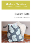 Bucket Tote PDF Pattern - Download