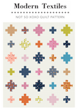 Not So XOXO Quilt Paper Quilt Pattern
