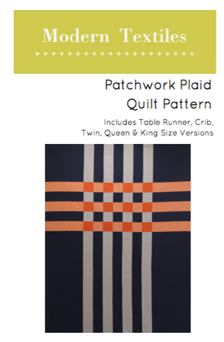 Patchwork Plaid Quilt Pattern
