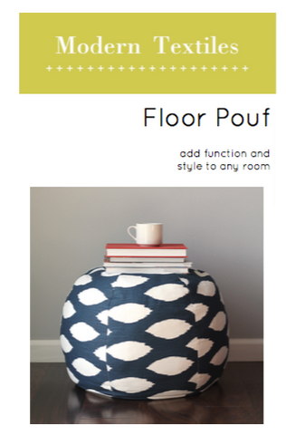 Floor Pouf Pattern