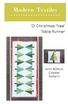 'O Christmas Tree' Table Runner PDF Pattern - Digital Download