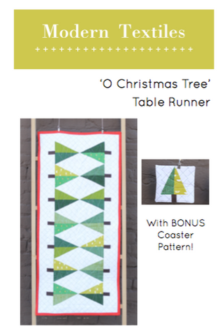 'O Christmas Tree' Table Runner Pattern